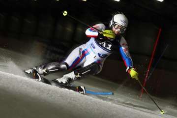 Claire Dautherives Women's Alpine Ski European Indoor Championships