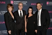 (L-R) Lisa Rinna, Harry Hamlin, Kyle Richards, and Mauricio Umansky attend The Women's Cancer Research Fund's 'An Unforgettable Evening' at Beverly Wilshire, A Four Seasons Hotel on February 27, 2020 in Beverly Hills, California.