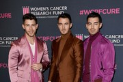 (L-R) Nick Jonas, Kevin Jonas, and Joe Jonas of Jonas Brothers attends The Women's Cancer Research Fund's 'An Unforgettable Evening' at Beverly Wilshire, A Four Seasons Hotel on February 27, 2020 in Beverly Hills, California.