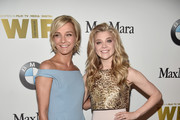 Max Mara Brand Ambassador Nicola Maramotti (L) and honoree Natalie Dormer attend Women In Film 2016 Crystal + Lucy Awards Presented by Max Mara and BMW at The Beverly Hilton on June 15, 2016 in Beverly Hills, California.