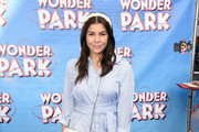 """Imogen Thomas attends the UK Gala screening of """"WONDER PARK"""" at Vue Leicester Square on March 24, 2019 in London, England."""
