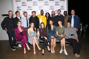 """The cast and crew of """"Fear the Walking Dead"""" attend the Wondercon """"Fear the Walking Dead"""" panel at Anaheim Convention Center on March 31, 2019 in Anaheim, California."""