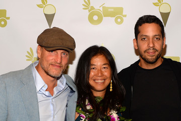 Woody Harrelson Laura Louie Grand Opening Of Sage Culver City