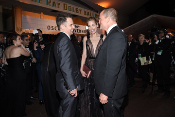Woody Harrelson Sam Rockwell 90th Annual Academy Awards - Governors Ball