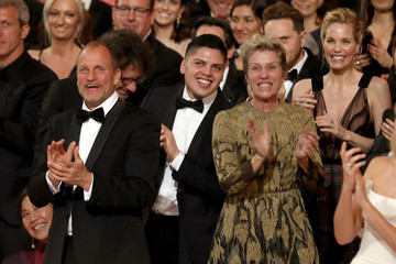 Woody Harrelson 90th Annual Academy Awards - Backstage