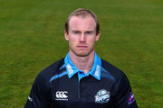 Worcestershire cricket player Alexei Kervezee pictured during the Worcestershire CCC Photocall at New Road on April 8, 2016 in Worcester, England.