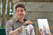 Actor Jason Biggs speaks at the 'Word For Word' author event with Jason Biggs and Jenny Mollen on June 18, 2014 in New York, United States.
