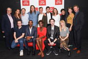 (Top row L-R) Guest, Julia Brown, Sean Bean, Adam Smith, Pete Bowker, Jonah Hauer-King, Zofia Wichlacz, Ceallach Spellman, Victoria Mayer, guest, (Bottom row L-R) Damien Timmer, Parker Sawyers, Yrsa Daley-Ward, Blake Harrison and Helen Ziegler attend the 'World On Fire' BFI Premiere at BFI Southbank on September 3, 2019 in London, England.