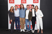 (L-R) Julia Brown, Sean Bean, Adam Smith, Pete Bowker, Jonah Hauer-King, Zofia Wichlacz attend the 'World On Fire' BFI Premiere at BFI Southbank on September 3, 2019 in London, England.