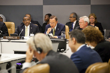 Abdiweli Mohamed Ali World Leaders Attend 66th United Nations General Assembly