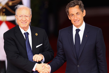 Beji Caid el Sebsi World Leaders Attend G8 Summit 2011 in Deauville - Day 2