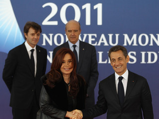 Fernandez de Kirchner World Leaders Gather In Cannes For The G20 Summit
