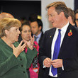 Chancellor Angela Merkel World Leaders Gather In Cannes For The G20 Summit
