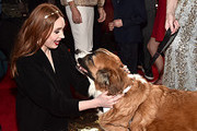"""Karen Gillan and Buckley arrive at the World Premiere of 20th Century Studios' """"The Call of the Wild"""" at the El Capitan Theatre on February 13, 2020 in Hollywood, California. The film releases on Friday, February 21, 2020."""