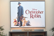 (L-R) Director Marc Forster, actors Ewan McGregor, Bronte Carmichael and Hayley Atwell attend the world premiere of Disney's 'Christopher Robin' at the Main Theater on the Walt Disney Studios lot in Burbank, CA on July 30, 2018.