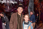 "(L-R) Evan Ross and Bronx Wentz attend the world premiere of Disney's ""Frozen 2"" at Hollywood's Dolby Theatre on Thursday, November 7, 2019 in Hollywood, California."