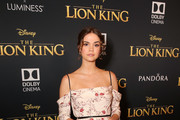 "Maia Mitchell attends the World Premiere of Disney's ""THE LION KING"" at the Dolby Theatre on July 09, 2019 in Hollywood, California."