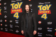 Keanu Reeves attends the world premiere of Disney and Pixar's TOY STORY 4 at the El Capitan Theatre in Hollywood, CA on Tuesday, June 11, 2019.