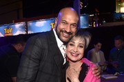 (L-R) Keegan-Michael Key and Annie Potts attend the world premiere of Disney and Pixar's TOY STORY 4 at the El Capitan Theatre in Hollywood, CA on Tuesday, June 11, 2019.
