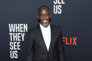 """Michael K. Williams attends the World Premiere of Netflix's """"When They See Us"""" at the Apollo Theater on May 20, 2019 in New York City."""