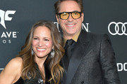 "Susan Downey and Robert Downey Jr. attend the world premiere of Walt Disney Studios Motion Pictures ""Avengers: Endgame"" at the Los Angeles Convention Center on April 22, 2019 in Los Angeles, California."