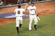 Hunter Pence Madison Bumgarner Photos Photo