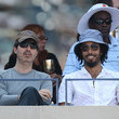 Wyatt Cenac Celebs Mingle at the Moet and Chandon Suite