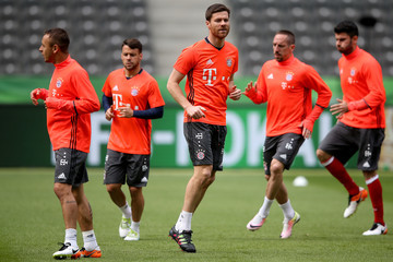 Xabi Alonso Bayern Muenchen Training Session  - DFB Cup Final 2016
