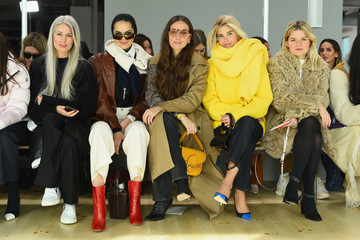Xenia Adonts Tory Burch Fall Winter 2019 Fashion Show - Front Row