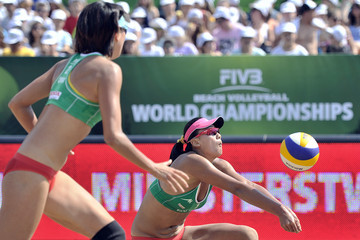 Xi Zhang FIVB Beach Volleyball World Championships: Day 3