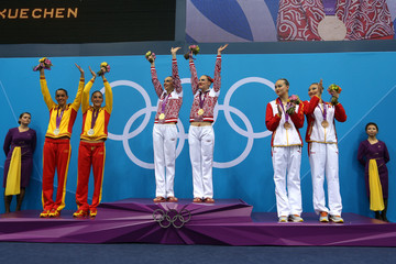Xuechen Huang Olympics Day 11 - Synchronised Swimming