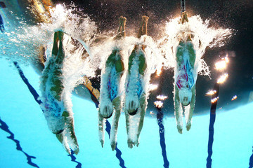 Xuechen Huang Olympics Day 14 - Synchronised Swimming