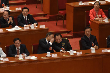 Yang Jiechi China's National People's Congress (NPC) - Fifth Plenary Meeting