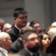 Yao Ming Family And Friends Attend A Funeral Service For Pres. George H.W. Bush In Houston