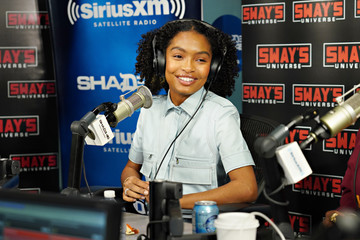 Yara Shahidi Celebrities Visit SiriusXM - January 15, 2020