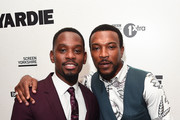 Aml Ameen and Ashley Walters attend the Premiere of Yardie. Yardie is released in UK cinemas on 31st August at BFI Southbank on August 21, 2018 in London, England.