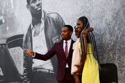 Aml Ameen, Myla-Rae Huntchinson-Dunwell and Shantol Jackson attend the Premiere of Yardie. Yardie is released in UK cinemas on 31st August at BFI Southbank on August 21, 2018 in London, England.