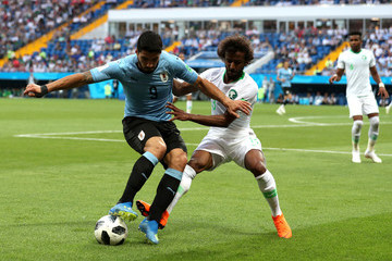 Yasir Alshahrani Uruguay Vs. Saudi Arabia: Group A - 2018 FIFA World Cup Russia