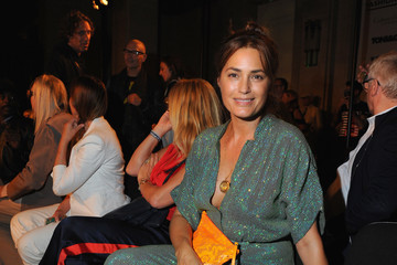 Yasmin Le Bon Front Row & Arrivals - Day 1 - LFW September 2016