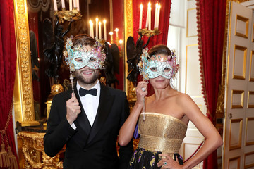 Yasmin Le Bon The Prince Of Wales And The Duchess Of Cornwall Host Reception For The Elephant Family Animal Ball