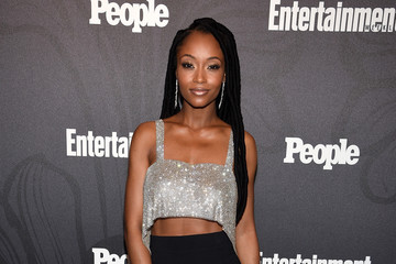 Yaya DaCosta Entertainment Weekly & People New York Upfronts Party 2018 - Arrivals
