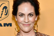 """Annabeth Gish attends """"Yellowstone"""" premiere at Paramount Pictures on June 11, 2018 in Los Angeles, California."""