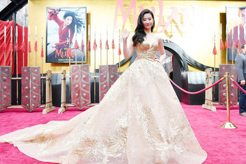 "Yifei Liu Premiere Of Disney's ""Mulan"" - Red Carpet"