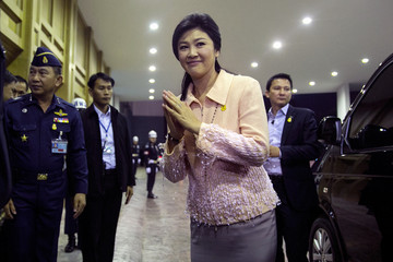 Yingluck Shinawatra Thailand Declares a State of Emergency