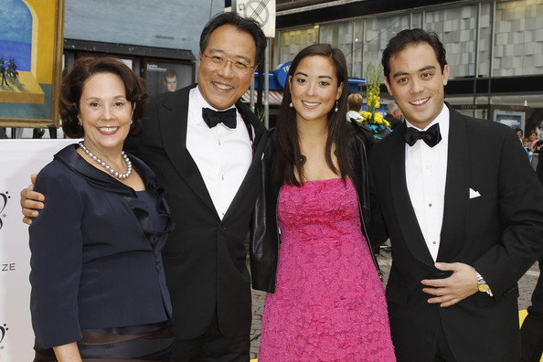 Photo of Yo-Yo Ma & his  Daughter  Emily Ma