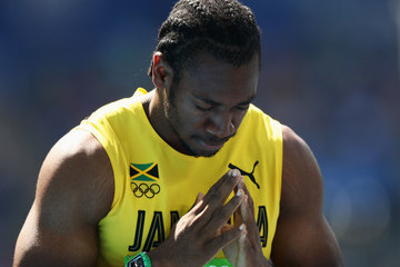 Yohan Blake Athletics - Olympics: Day 11