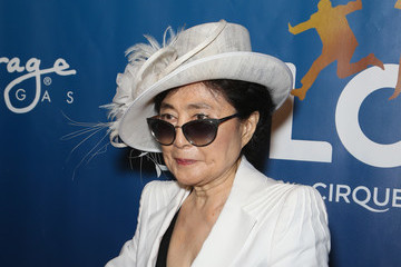 Yoko Ono 'The Beatles LOVE By Cirque du Soleil' Celebrates Its 10th Anniversary At The Mirage In Las Vegas