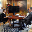 Yolanda Diaz King Felipe VI Of Spain Receives Minister Of Labour And Social Economy Yolanda Diaz