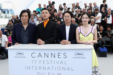 Yoo Ah In 'Burning' Photocall - The 71st Annual Cannes Film Festival