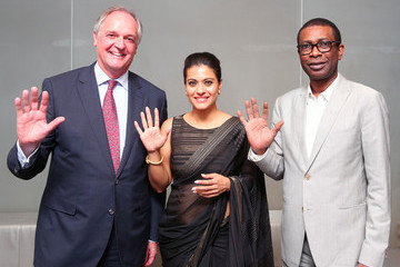 Youssou N'Dour Lifebuoy's Help A Child Reach 5 Campaign With Unilever At The United Nations
